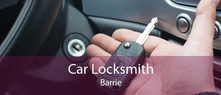 Car Locksmith Barrie