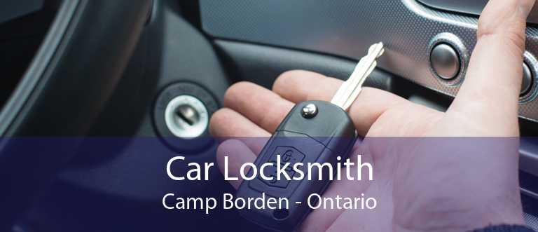 Car Locksmith Camp Borden - Ontario
