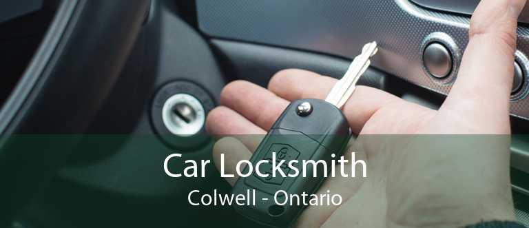 Car Locksmith Colwell - Ontario