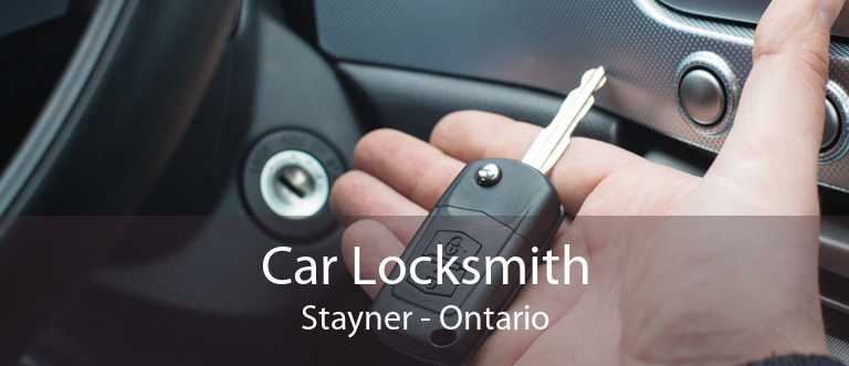 Car Locksmith Stayner - Ontario