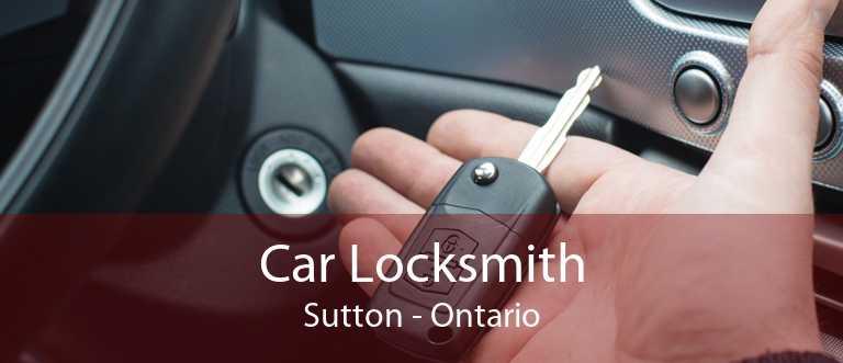 Car Locksmith Sutton - Ontario