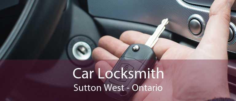 Car Locksmith Sutton West - Ontario