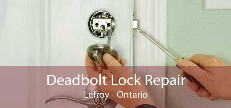 Deadbolt Lock Repair Lefroy - Ontario