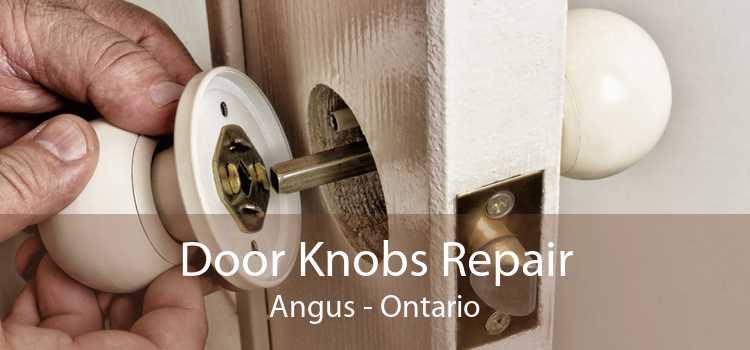 Door Knobs Repair Angus - Ontario