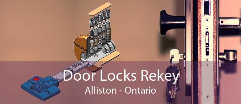 Door Locks Rekey Alliston - Ontario