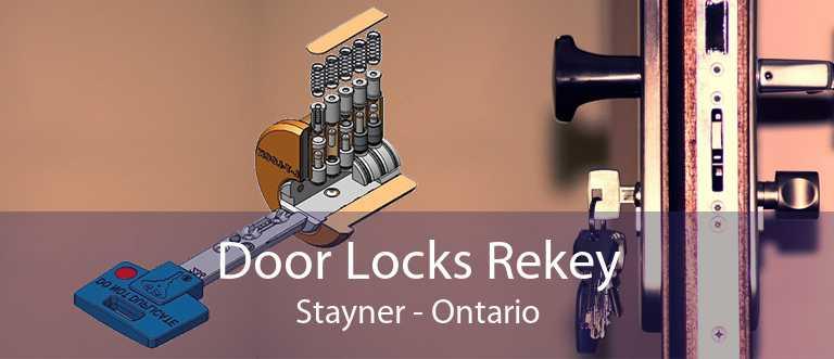 Door Locks Rekey Stayner - Ontario