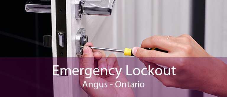 Emergency Lockout Angus - Ontario