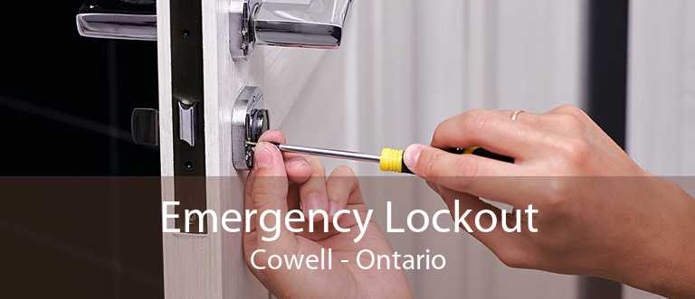 Emergency Lockout Cowell - Ontario