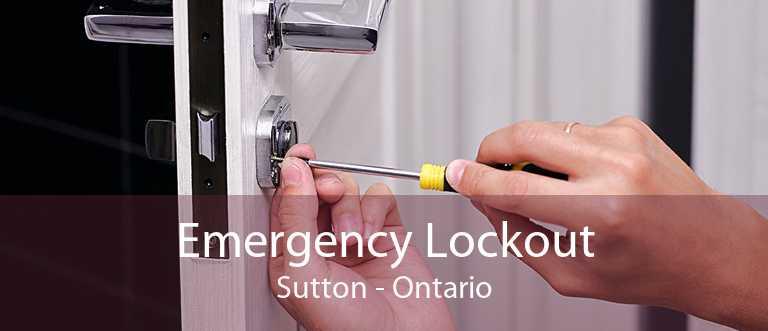 Emergency Lockout Sutton - Ontario