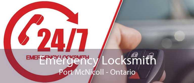 Emergency Locksmith Port McNicoll - Ontario