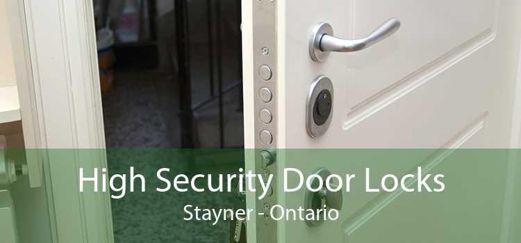 High Security Door Locks Stayner - Ontario
