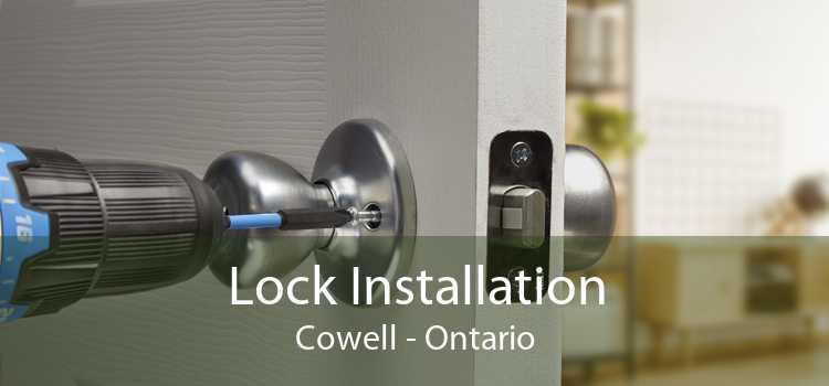 Lock Installation Cowell - Ontario