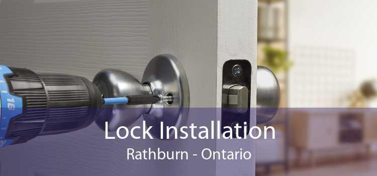 Lock Installation Rathburn - Ontario