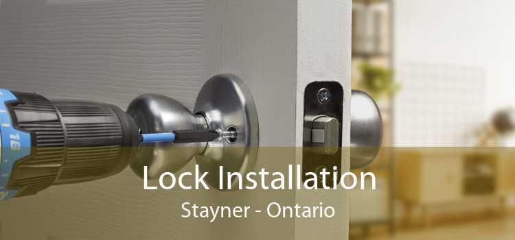Lock Installation Stayner - Ontario