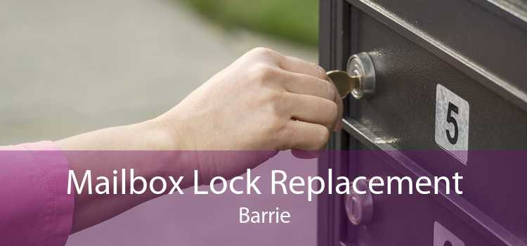 Mailbox Lock Replacement Barrie