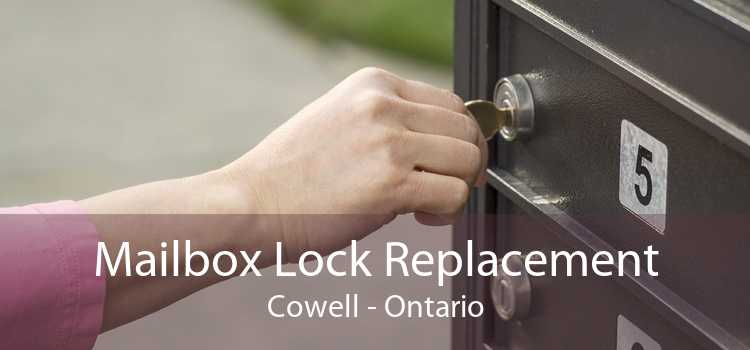 Mailbox Lock Replacement Cowell - Ontario