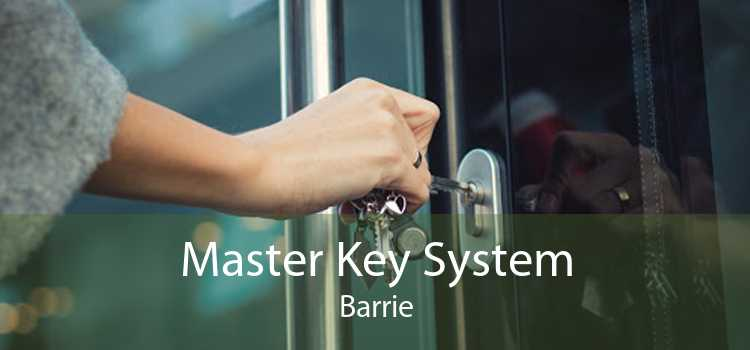 Master Key System Barrie
