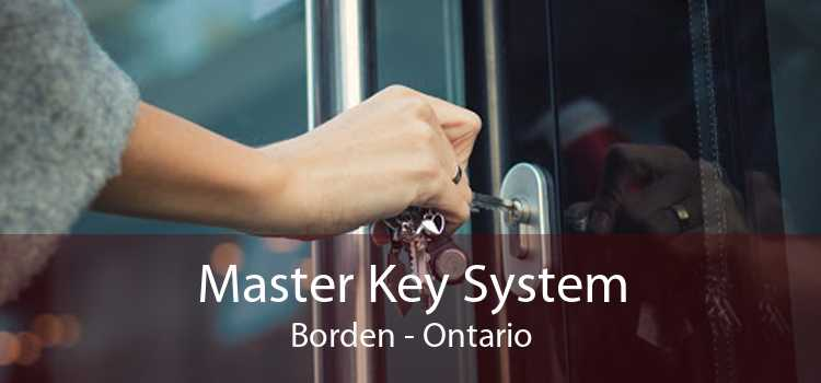 Master Key System Borden - Ontario