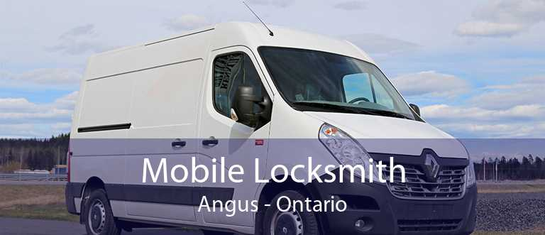 Mobile Locksmith Angus - Ontario