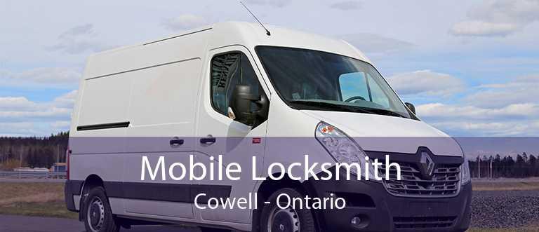 Mobile Locksmith Cowell - Ontario