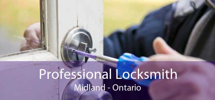 Professional Locksmith Midland - Ontario