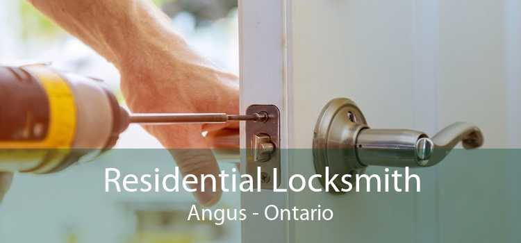 Residential Locksmith Angus - Ontario