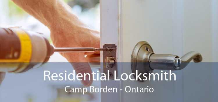 Residential Locksmith Camp Borden - Ontario